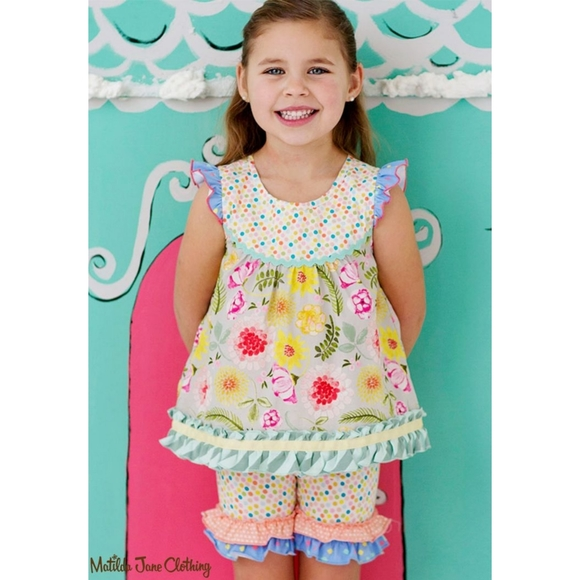 Matilda Jane Happy and Free Floral Sorbet Shabby T